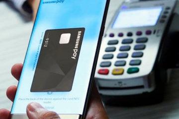 функция samsung pay и мобильный терминал оплаты